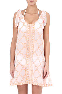 JULIET DUNN Embellished printed dress