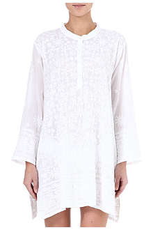 JULIET DUNN Embroidered overshirt