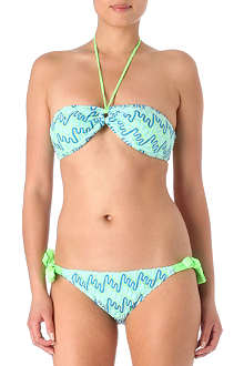 MISSONI Diagonale bi-coloured bikini