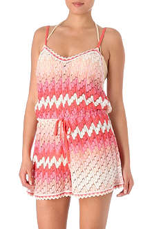 MISSONI Diagonale degradé playsuit