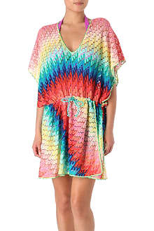 MISSONI Diagonale multicolour beach dress