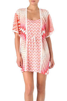 MISSONI Patchwork short kaftan