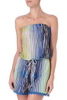 MISSONI Feather playsuit