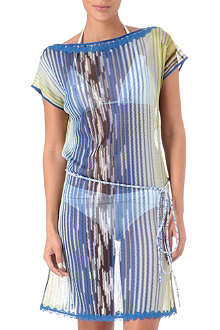 MISSONI Feather tunic dress