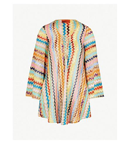 MISSONI Copricost striped woven dress (Multi