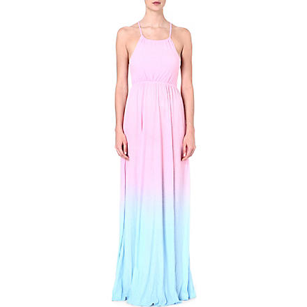 WILDFOX I Am The Ocean Gigi gown (Multi