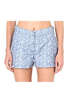 ORLEBAR BROWN Whippet printed side-fastener shorts