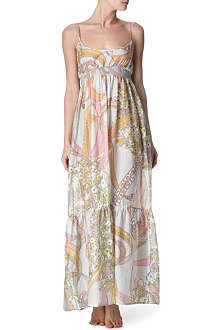EMILIO PUCCI Ortensie long dress