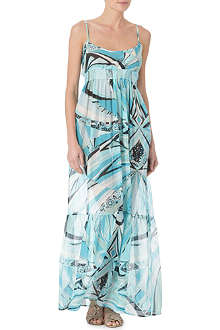 PUCCI Printed long dress