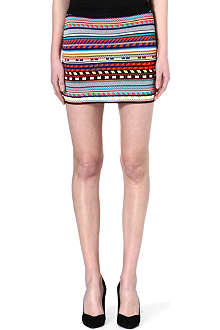 EMILIO PUCCI Masai knitted mini skirt