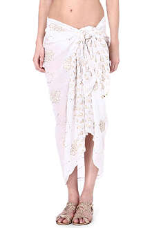 JULIET DUNN Cotton sarong