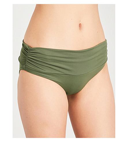 MELISSA ODABASH Bel Air bikini bottoms (Khaki