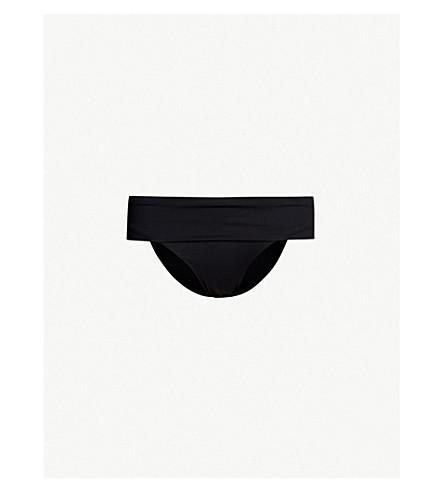 MELISSA ODABASH Brussels mid-rise bikini bottoms (Black