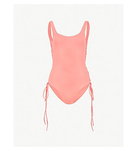 f1adf9e9cd4e2 MELISSA ODABASH - Cuba corseted swimsuit | Selfridges.com