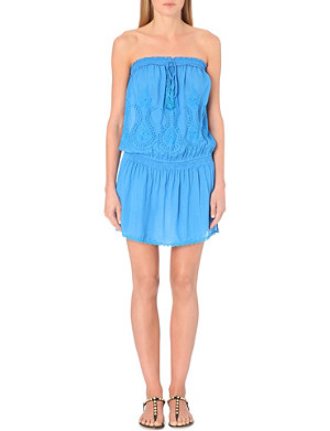 MELISSA ODABASH Fruley strapless jersey cover-up