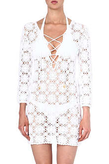 MELISSA ODABASH Giselle crochet beach dress