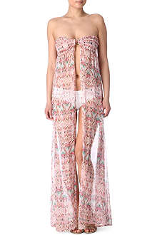 MELISSA ODABASH Holly bandeau beach dress