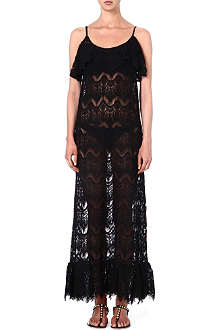 MELISSA ODABASH Jamie crochet maxi dress