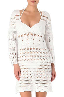 MELISSA ODABASH Kirsty crochet dress