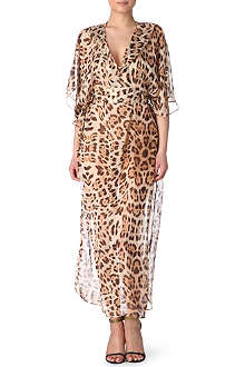 MELISSA ODABASH Louise long wrap beach dress