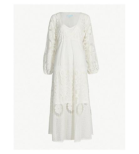 MELISSA ODABASH Melissa crocheted dress (Cream