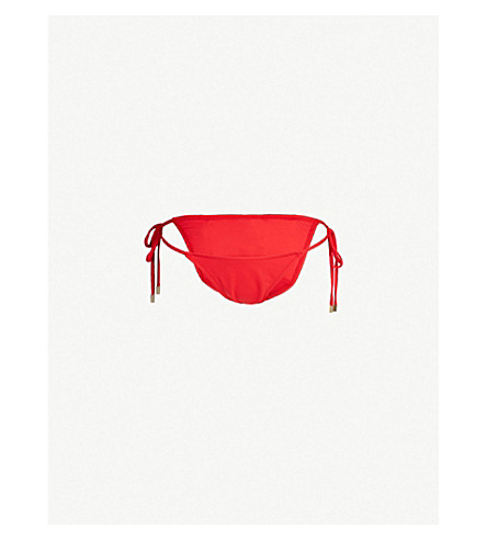 MELISSA ODABASH Miami bikini bottoms (Red