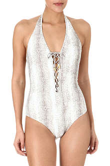 MELISSA ODABASH Naples v-neck swimsuit