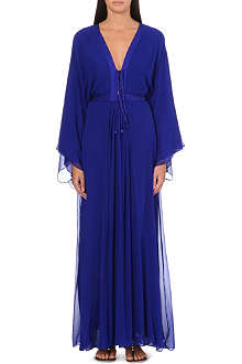 MELISSA ODABASH Natalie silk cover-up