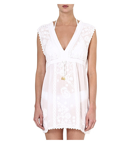 MELISSA ODABASH Olivia short dress (White