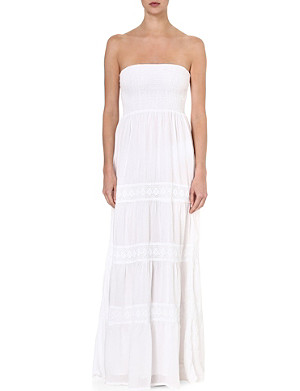 MELISSA ODABASH Ruby bandeau maxi dress
