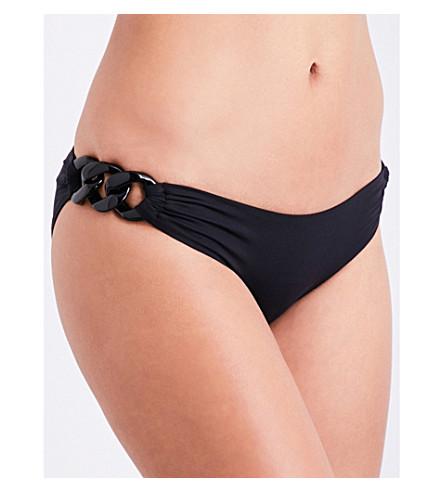 MELISSA ODABASH Thailand bikini bottoms (Black