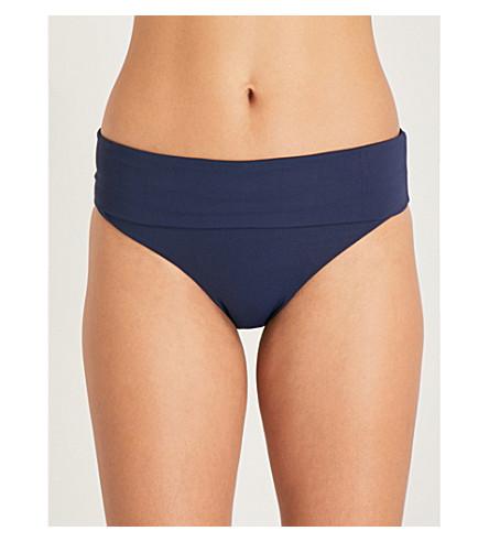 MELISSA ODABASH Trinidad bikini bottoms (Navy
