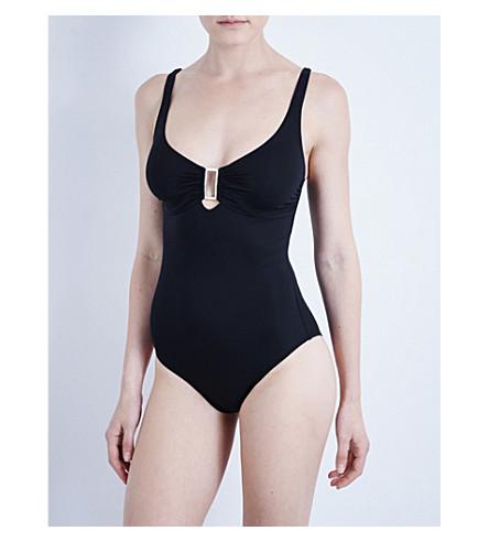 MELISSA ODABASH Tuscany underwired swimsuit (Black