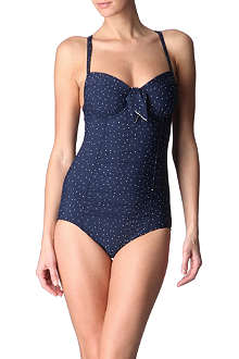 SEAFOLLY Harlow tie-front swimsuit