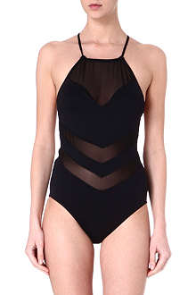 SEAFOLLY Goddess high neck swimsuit