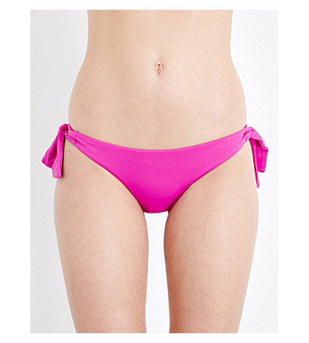 SEAFOLLY Loop tie side hipster (Wild orchid