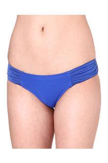 SEAFOLLY Goddess pleated bikini briefs