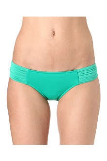SEAFOLLY Goddess pleated bikini briefs