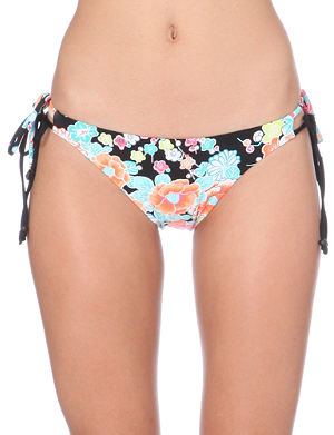 SEAFOLLY Kimono floral-print bikini briefs