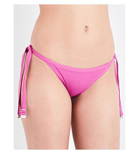 SEAFOLLY Tie Side bikini bottoms (Berry