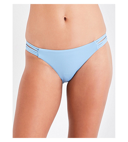 SEAFOLLY Brazilian-fit bikini bottoms (Bluemist