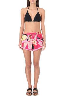 SEAFOLLY Kabuki Bloom floral-print shorts