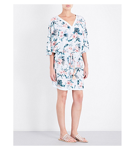 SEAFOLLY Pacifico chiffon kaftan (White