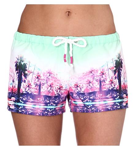 SEAFOLLY Desert springs board shorts (Limelight