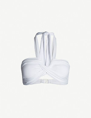 SEAFOLLY Goddess bandeau bikini top