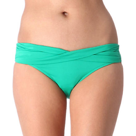 SEAFOLLY Goddess mini hipster briefs (Envy