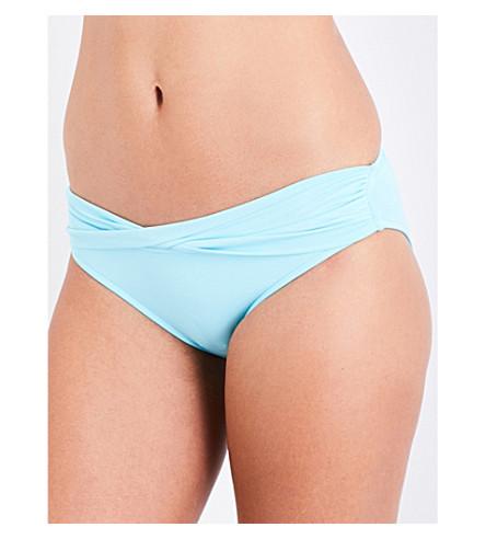 SEAFOLLY Twist Band hipster bikini bottoms (Iceberg