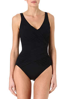 GOTTEX Goddess Surplice swimsuit