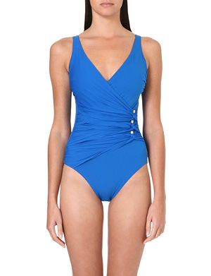 GOTTEX Le Ribot ruched swimsuit