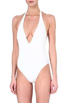 GOTTEX Nouvelle plunge halter swimsuit